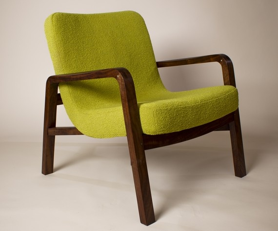 Curve A Linear Easy Chair