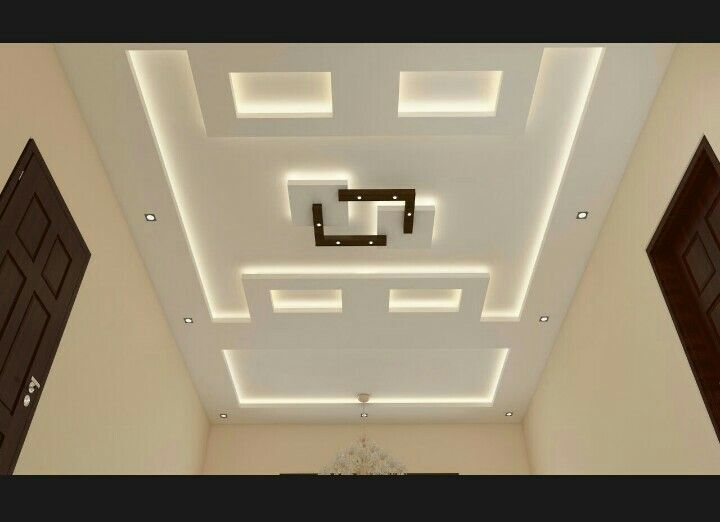 Latest Pop False Ceiling Design For Living Room Simple False