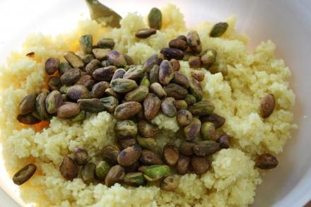 Couscous Salad with Pistachios and Apricots   Couscous, Pistachios and ...