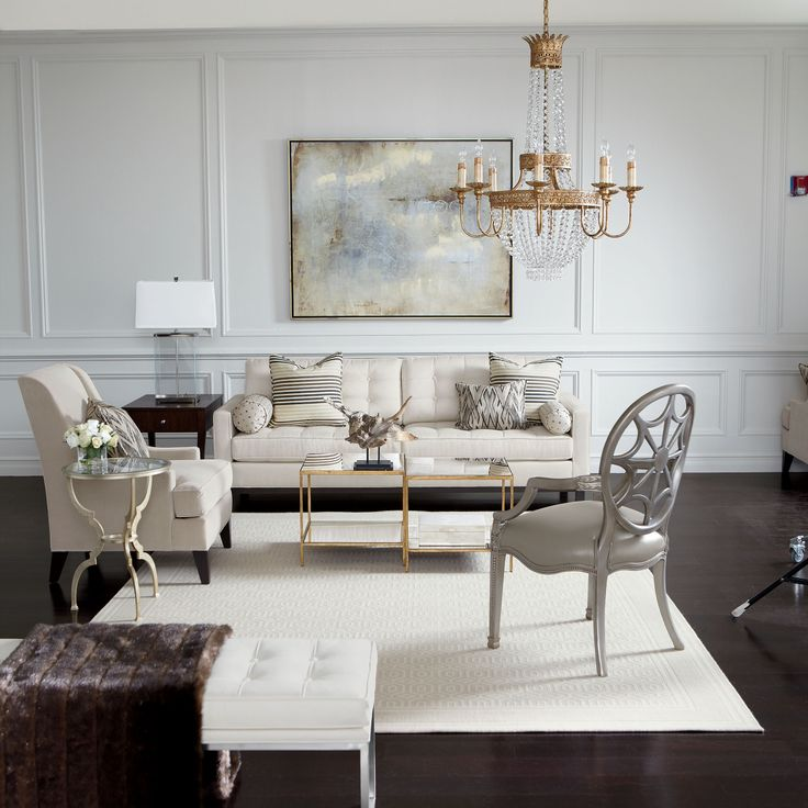 Ethan Allen Living Rooms. From Our Elegance Lifestyle. Notice The Mix Of  Metals.