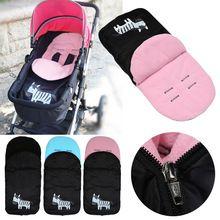 Bébé Poussette Accessoires Pied Couverture Enfants Chid Bébé Chariot Pieds Réchauffement Poussette Pad Footbag Sac de Couchage Bebek Arabasi(China)