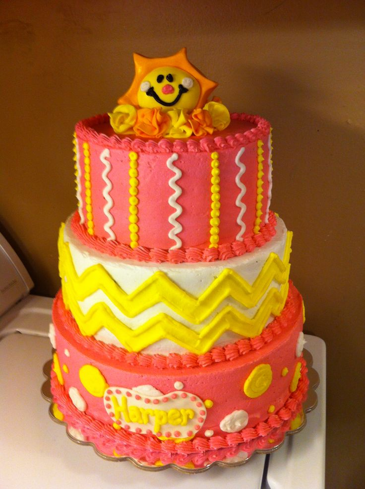 Images Of Cakes With Sunshine