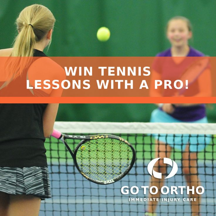 Win Free Lessons With a Tennis Pro for You and Three
