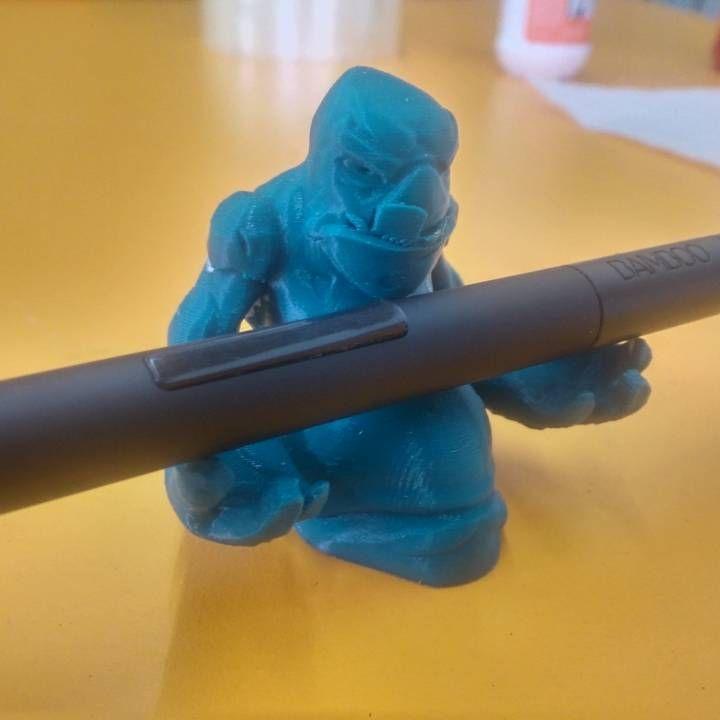 3D Printable Sludge Wacom Pen Holder  by G&U PRINT3D