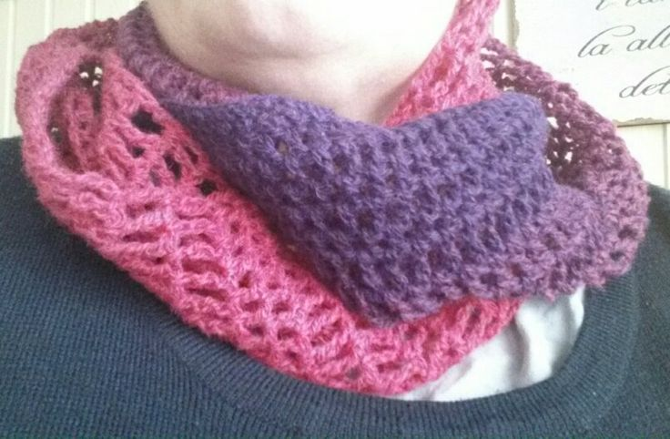 Neckwarmer in Kauni