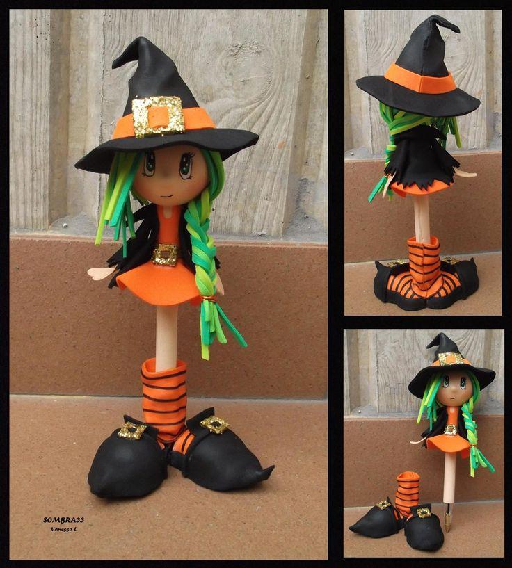 Pen witch by sombra33.deviantart.com on @deviantART