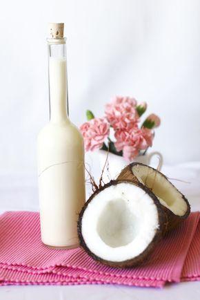 Domowy Likier Kokosowy a`la Malibu Just My Delicious