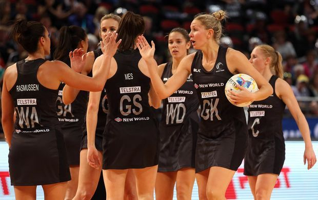 Casey Kopua leads the Silver Ferns from the court after their upset win over Australia. Aug. 2015 OPINION: Bridget Tunnicliffe reflects on a Netball World Cup where the brassy Silver Ferns fell short at the final hurdle but surpassed the expectations of most.