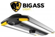 Big Ass Light LED Garage Light delivers a whopping 13,000 lumens, is built around a durable single-piece aluminum body and backed with a full 7 year warranty.