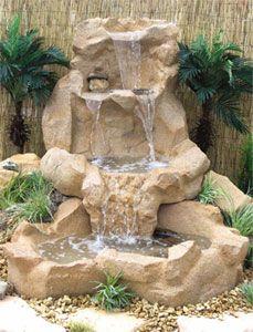 Nice garden fountain