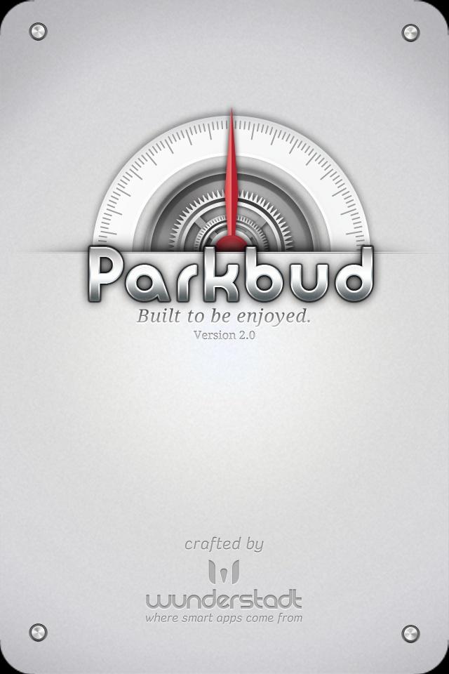 Parkbud Splash Screen
