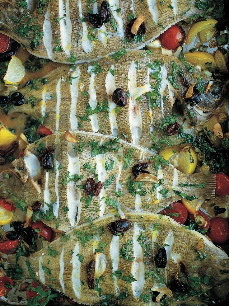 Baked Lemon Sole | Fish Recipes | Jamie Oliver Recipes