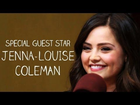 Doctor Who's Jenna-Louise Coleman on the Nerdist Podcast - Excerpt: The Nerdist on BBC America - YouTube