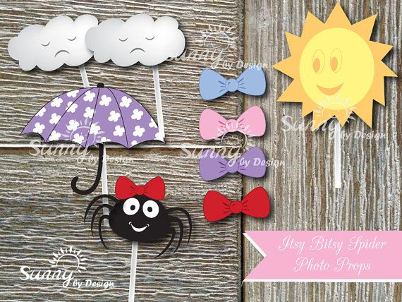 Itsy Bitsy Spider Immediate download printable by Sunnybydesign, $8.50