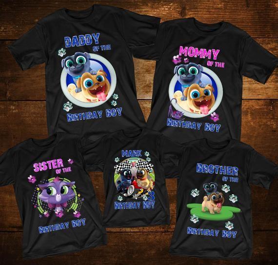 Puppy Dog Pals Birthday Shirts Customized Puppy Dog Pals Tshirt Disney Birthday Shirts Puppy Dog Pals B Disney Birthday Shirt Birthday Shirts Disney Birthday