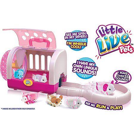Little Live Pets Glitzi Mouse House