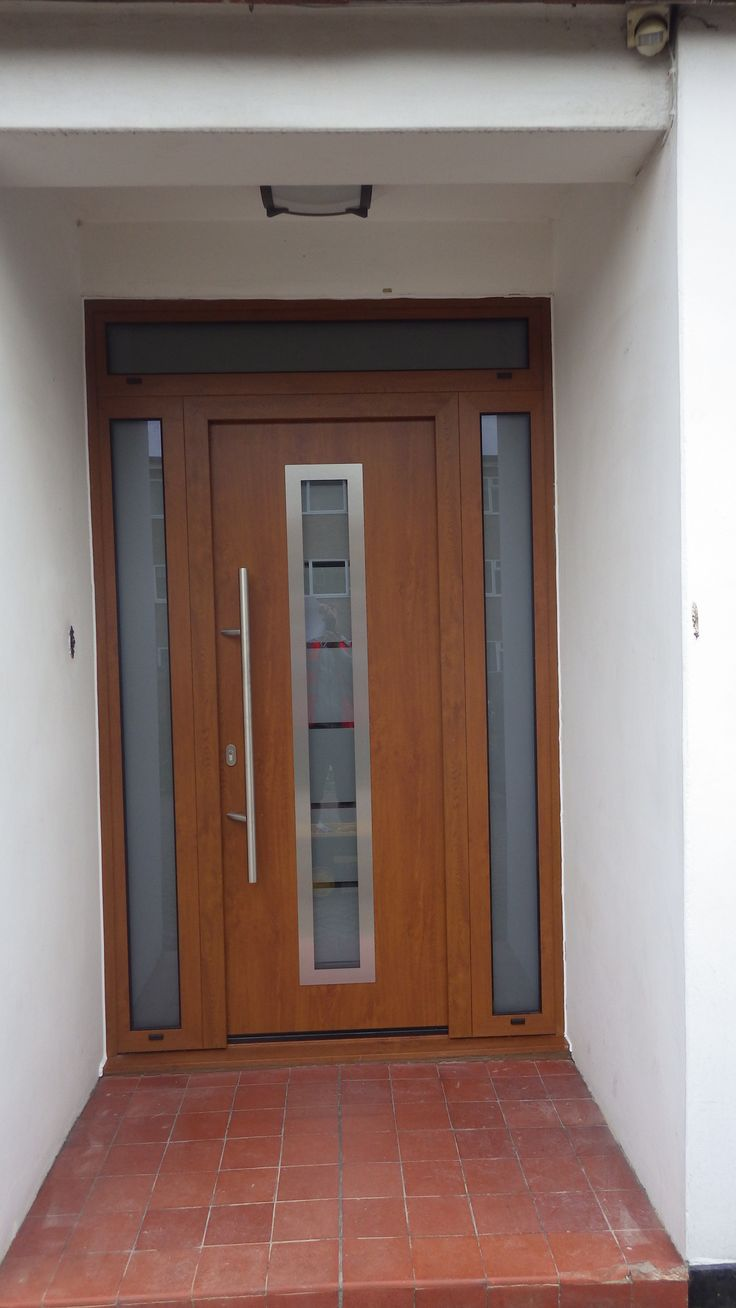 Hormann Thermo Pro Plus TPS 700 Entrance Door in Decograin Golden Oak and Golden Oak A4 & 22 best Hormann Entrance Doors images on Pinterest | Entrance doors ...