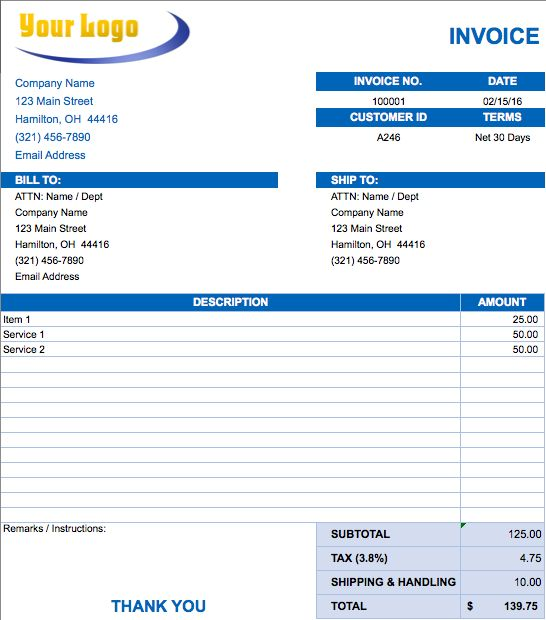 Best 25+ Invoice format in excel ideas on Pinterest Invoice - auto shop invoice template