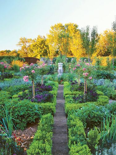 Outdoor Landscaping Trends - Backyard Design Ideas - Country Living . Tree roses!