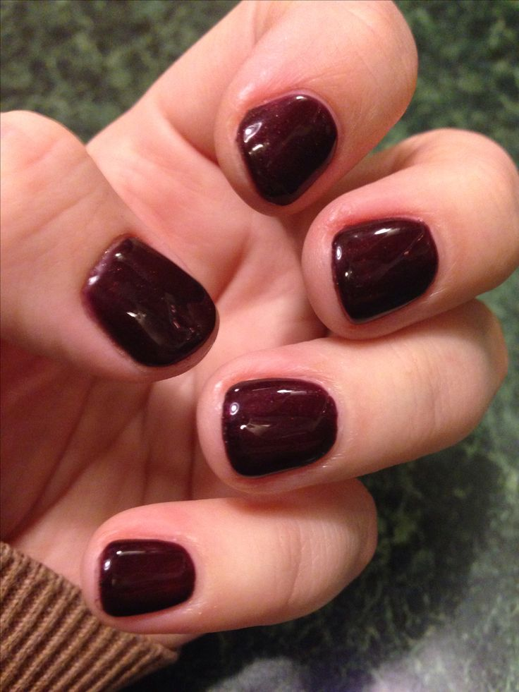 Cnd Shellac Dark Lava Shellac Nails Shellac Nail Colors Shellac Manicure