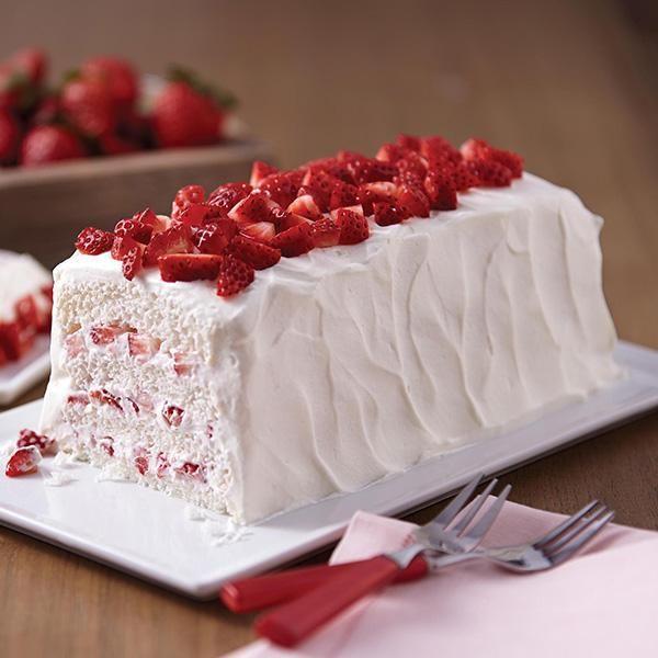 Strawberry Shortcake Layered Cake