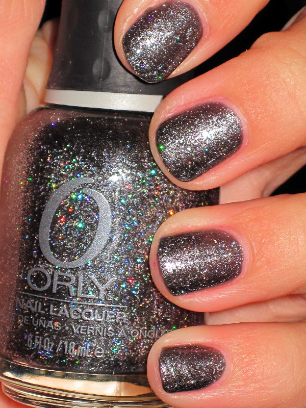 Orly: Rock Solid this is an amazing color/glitter polish