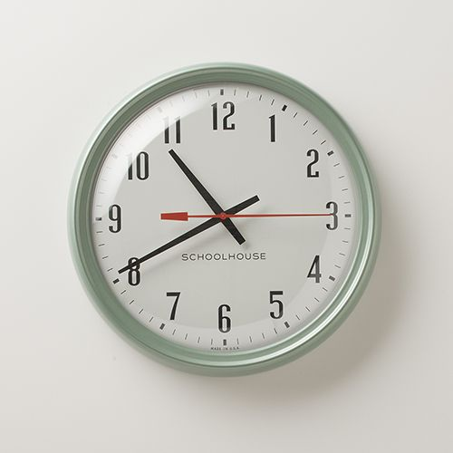 Bengt Ek Design Wall Clock 1856 : Schoolhouse electric s spring collection on design