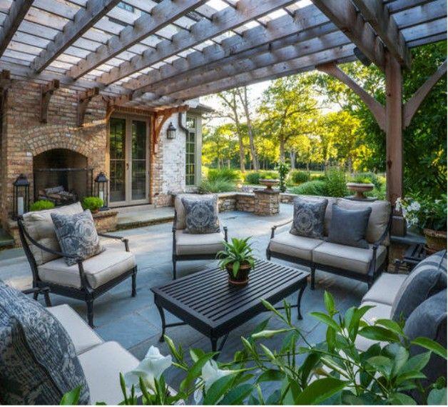 Pergolas Backyard And: 65 Best Images About Pergola / Gazebo Furniture Ideas