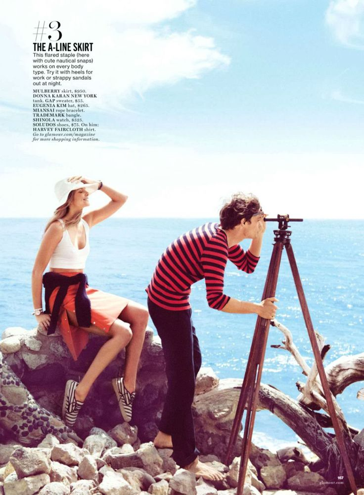 Eniko Mihalik by Matthew Brookes for Glamour US June 2014