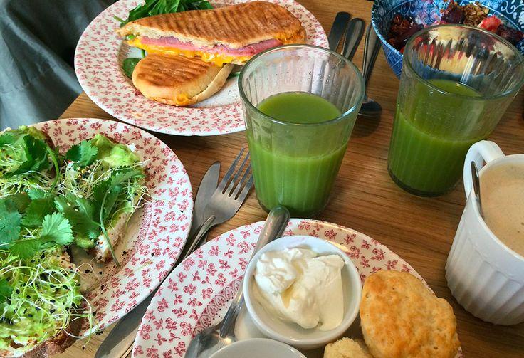 La nouvelle cantine du 18ème restaurant, brunch, avocado toast, pimpin, lunch time, smoothie, green