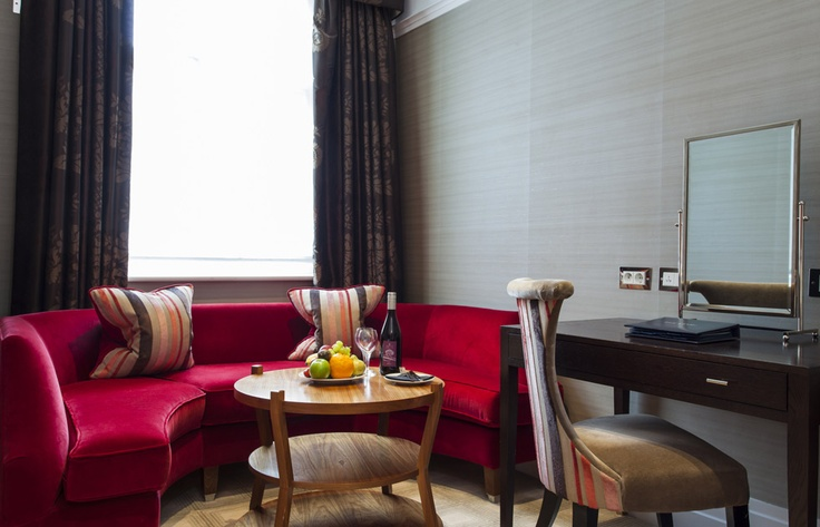 The Levin Hotel #London - This small 12-room boutique hotel is large on comforts, luxury & amenities. Love the location, love my room with this pink round nook & separate bath. Rooms were quiet & service was excellent. (Stayed 2009)
