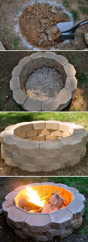best 25 rock fire pits ideas on pinterest backyard pool landscaping fire pit area and how to. Black Bedroom Furniture Sets. Home Design Ideas