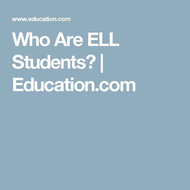 who are english language learner students essay Non-regulatory guidance: english learners and title iii of the elementary and secondary education act (esea), as amended by the every student succeeds act (essa.