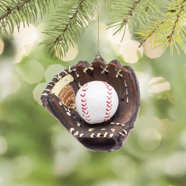 This ornament will be a homerun with the baseball fan in your life!
