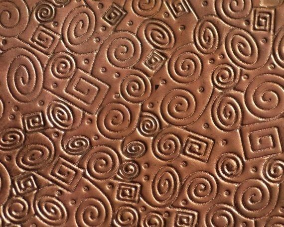 Wild Spirals Textured Sheet Metal Metal Sheet Doodle Patterns Metal Texture