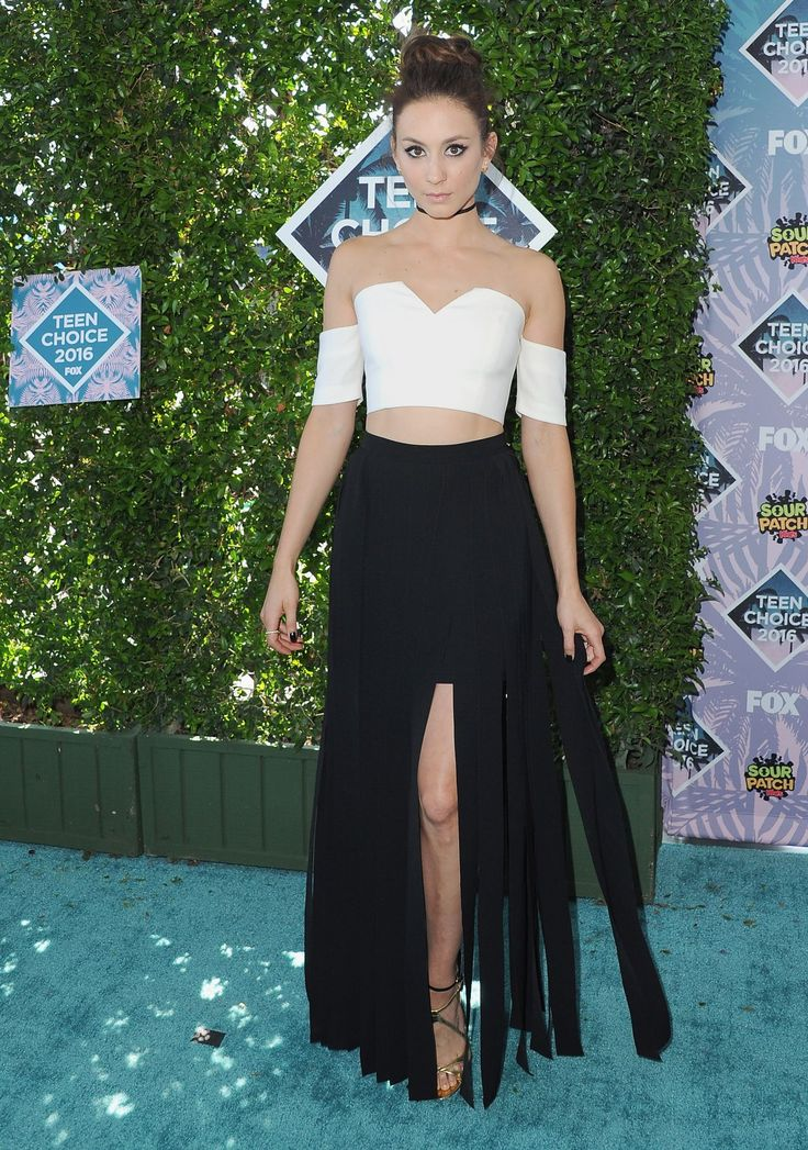 Troian Bellisario at Teen Choice Awards 2016