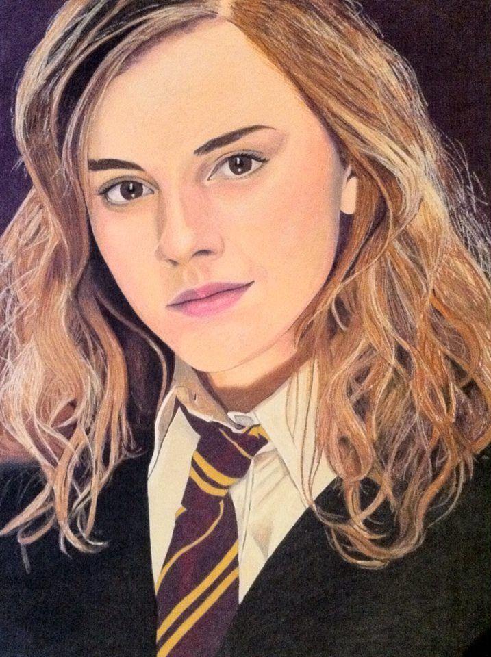Emma Watson As Hermione Granger From Harry Potter CatCurl
