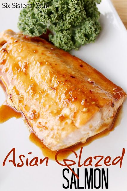 Asian Glazed Salmon Recipe