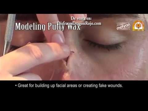 [VIDEO] Cera para Modelar (Caracterización Profesional) Modeling Putty Wax de Mehron