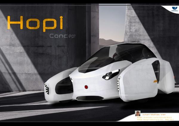 Hopi concept by Julian Vier, via Behance