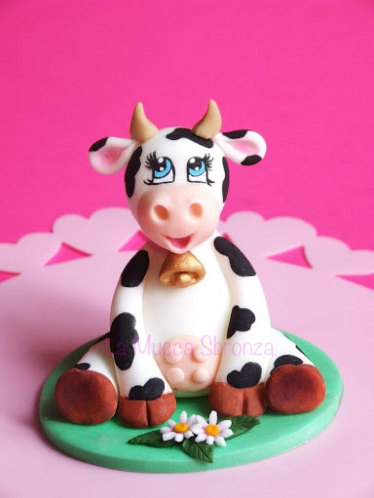 Http Lamuccasbronza Blogspot Com Sugar Paste Cow La