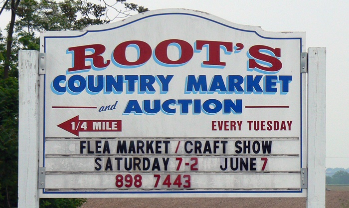 Roots Market in Manheim, Pa (pronounced Rutz by us locals ;-)