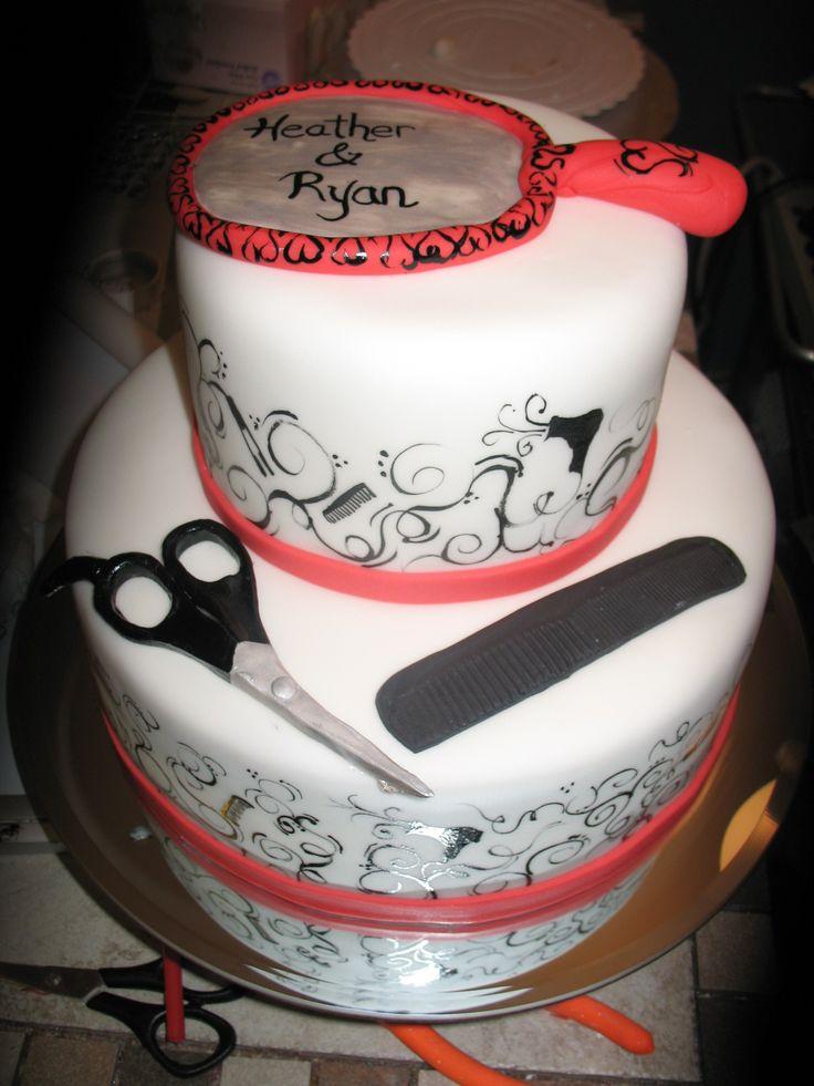 ... Stylist Cake, Stylist Things, Cosmetologist Hairstylists, Cake Ideas