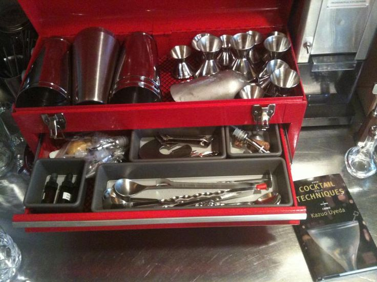 Cocktail toolbox