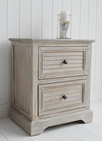 Richmond Limed Wooden Lamp Or Bedside Table With Wooden Drawers. Range Of Living  Room Furniture Part 60