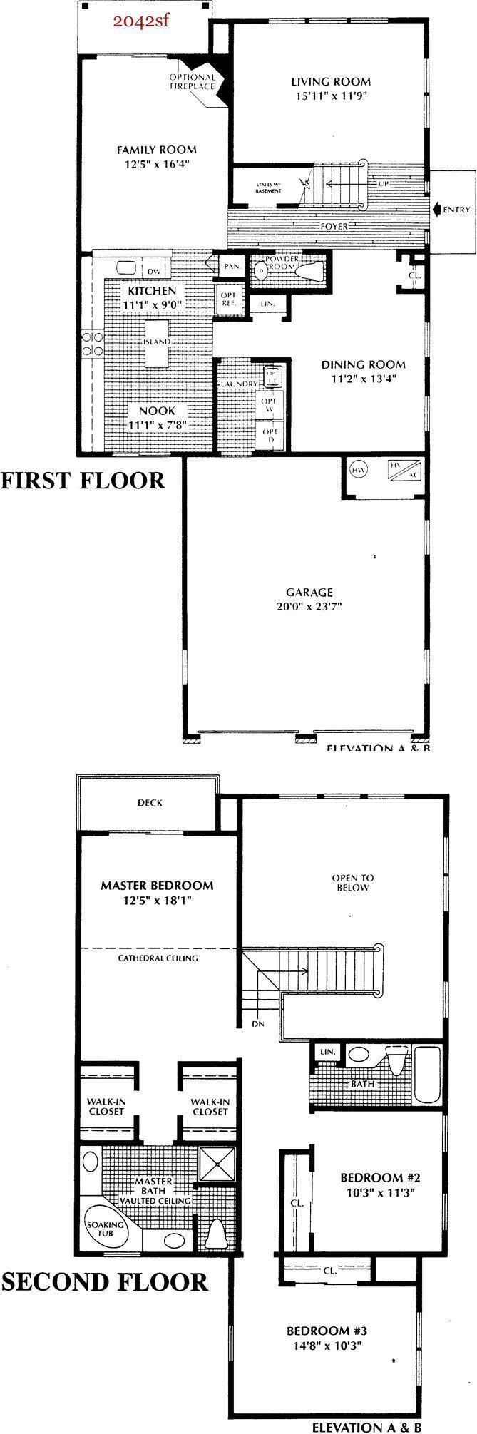 Lake Cushetunk Home Floorplans :: Lake Cushetunk Woods Whitehouse Station Hunterdon County NJ Real Estate Homes For Sale Jessica Wormeck