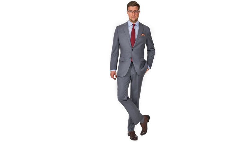 Premium Light Grey Suit