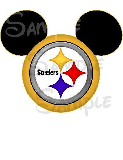 Pittsburgh+Steelers+digital+printable+Mickey+by+SwirlyColorPixels,+$3.00