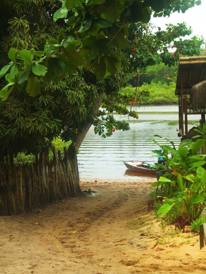 Paisagem rural em Caraiva, estado da Bahia, Brasil.  http://www.portalanaroca.com.br/a-unica-sabedoria-que-uma-pessoa-pode-esperar-adquirir-e-a-sabedoria-da-humildade/