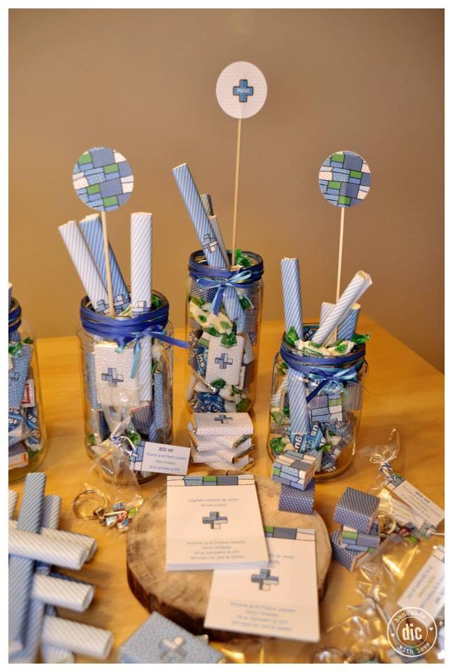 Estampas Comunión para varón - centros de mesa - golosinas personalizadas - souvenirs